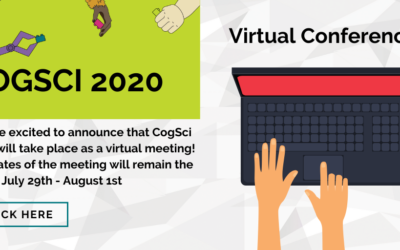 This week! Preparing for CogSci 2020