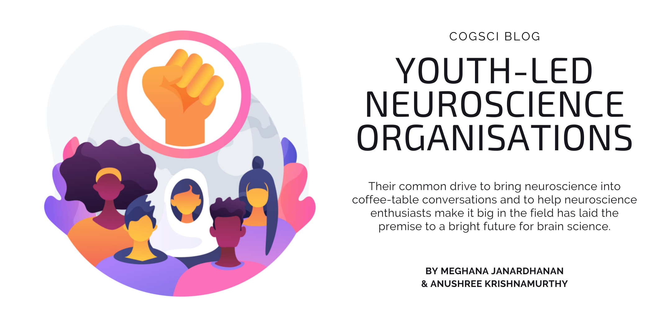 Cover image for the youth-led neuroscience organisation blog post